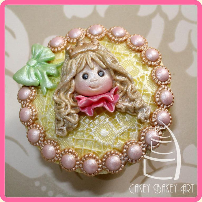CD - An idea using the Princess Sugar Buttons Silicone Mould product
