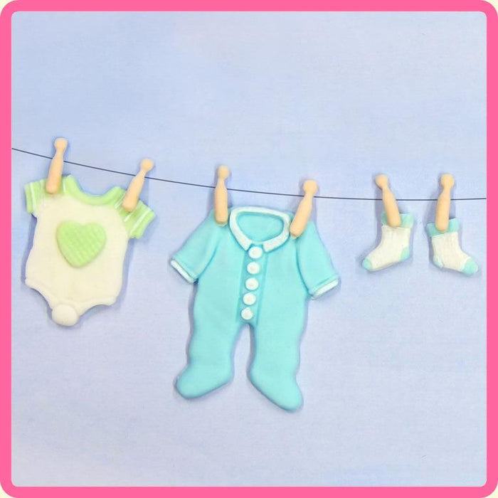CD - An idea using the Baby Clothes Washing Line Mould product