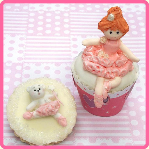 CD - An idea using the Ballerina Teddy Sugar Buttons Silicone Mould product