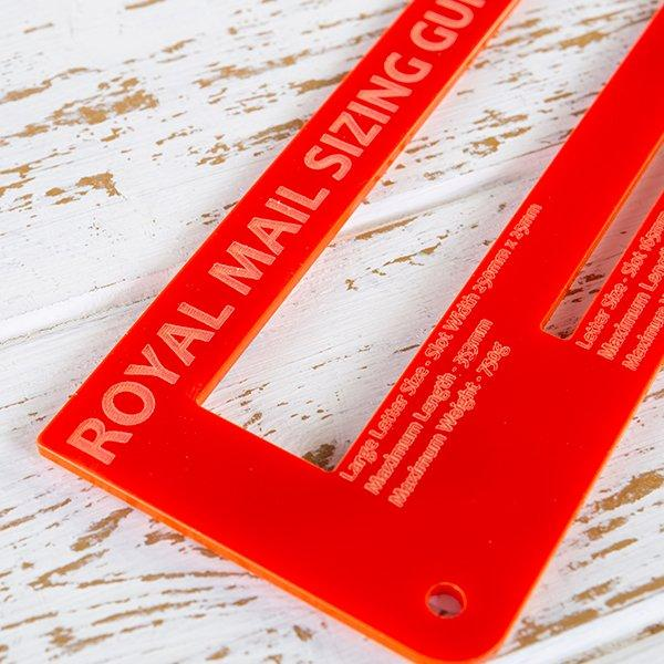 Royal Mail PiP Template / Letter Size Guide