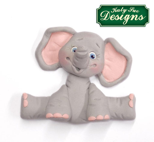 CD - An idea using the Baby Elephant Sugar Buttons Silicone Mould product