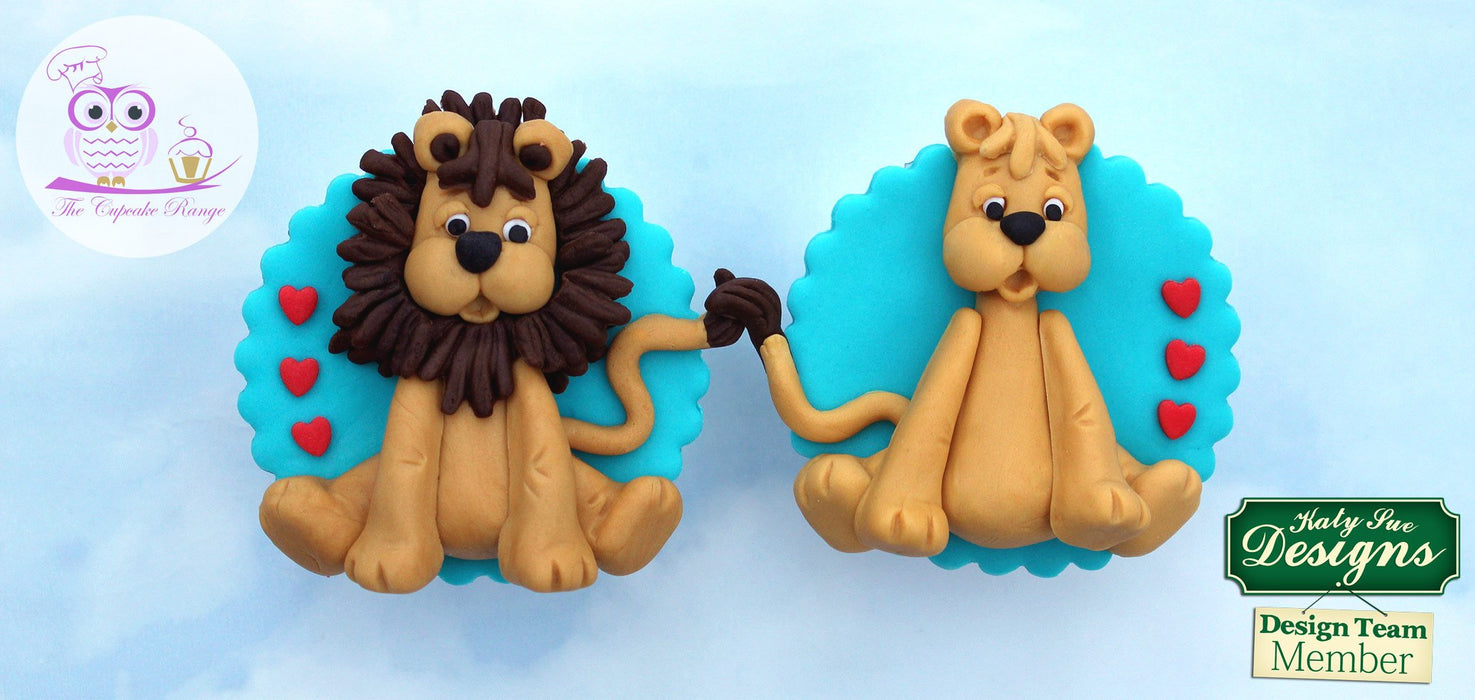 CD - An idea using the Lion Sugar Buttons Silicone Mould product