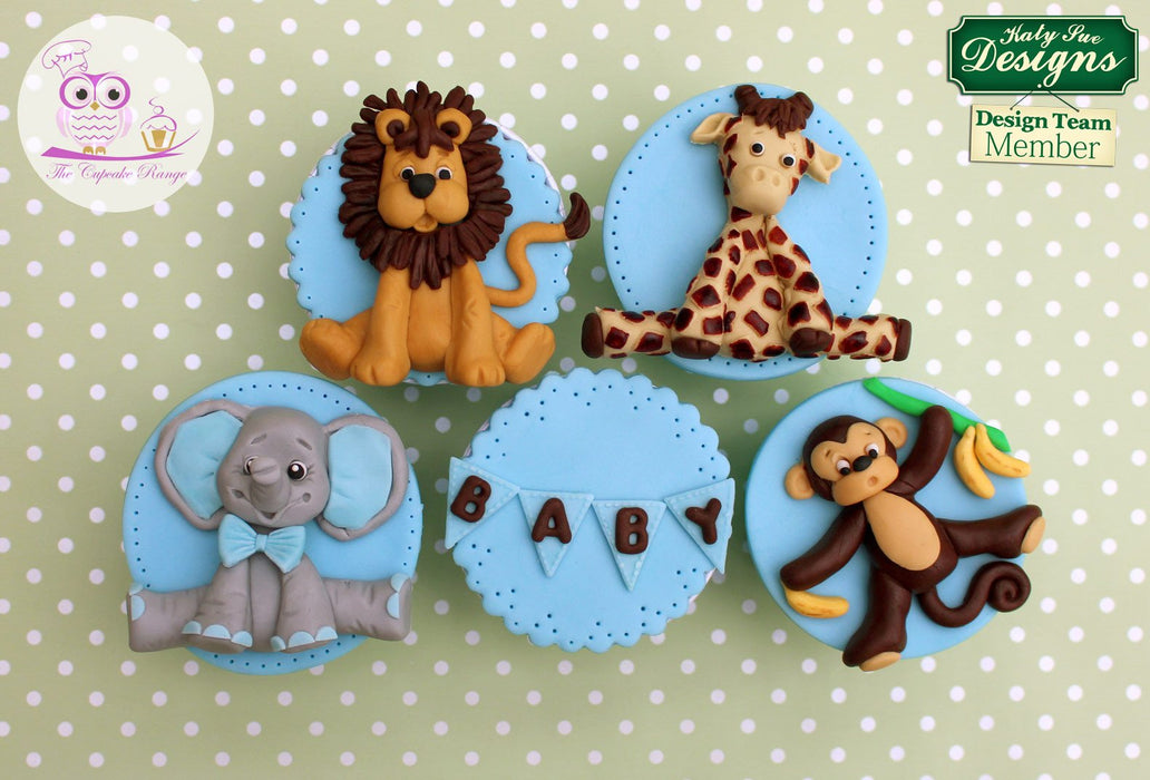 CD - An idea using the Giraffe Sugar Buttons Silicone Mould product