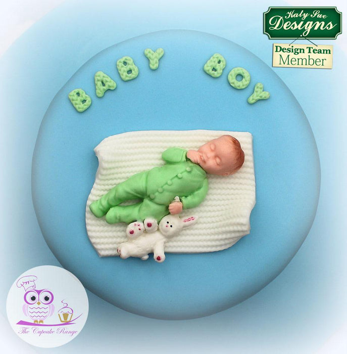 CD - An idea using the Baby Boy Silicone Mould product