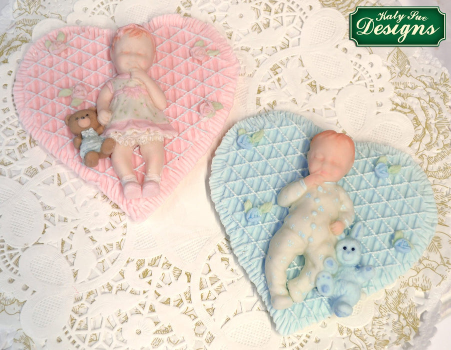 CD - An idea using the Baby Girl Silicone Mould product