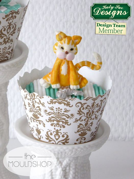 CD - An idea using the Cat Sugar Buttons Silicone Mould product