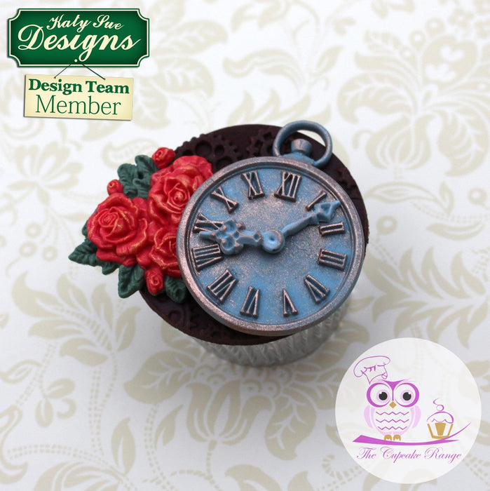 CD - An idea using the Clock Silicone Mould product