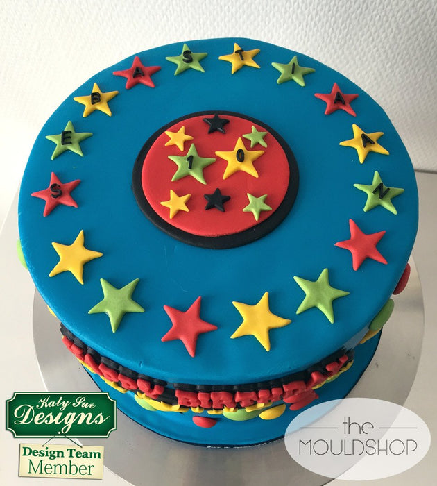 CD - An idea using the Star Numbers Silicone Mould product