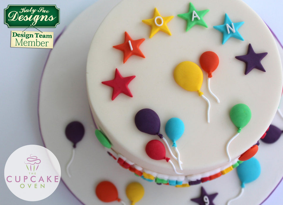 CD - An idea using the Star Alphabet Silicone Mould product