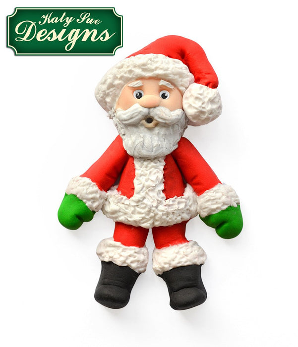 CD - An idea using the Father Christmas Sugar Buttons Silicone Mould product