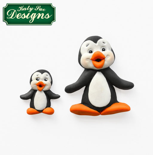 CD - An idea using the Penguins Sugar Buttons Silicone Moulds product
