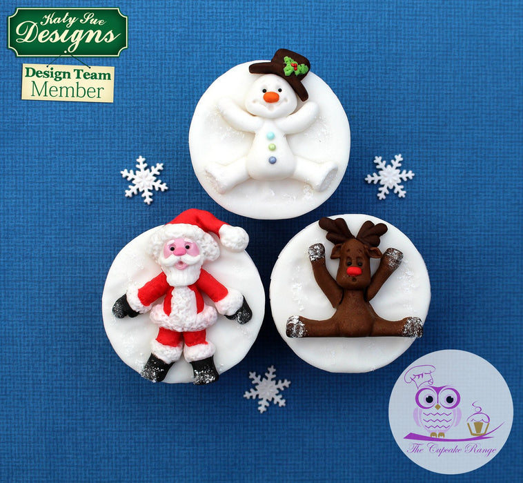 CD - An idea using the Reindeer Sugar Buttons Silicone Moulds product