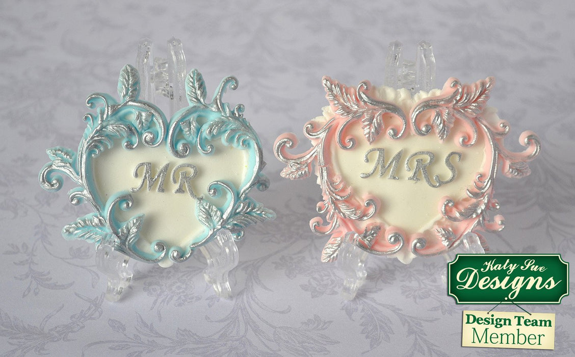 CD - An idea using the Mr Heart Silicone Mould product
