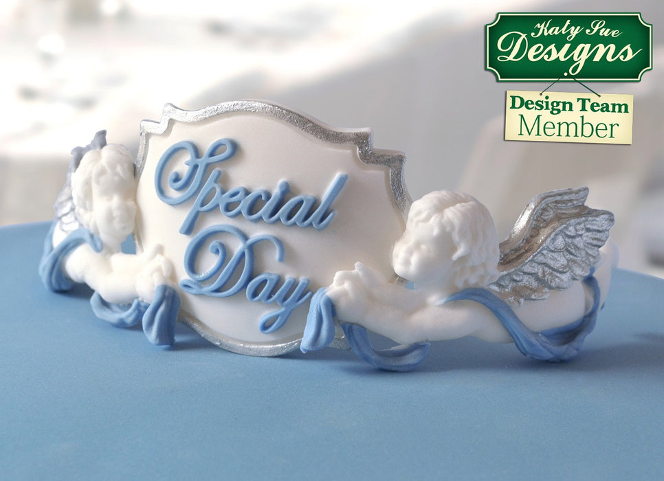CD - An idea using the Ornamental Cherubs Silicone Mould product