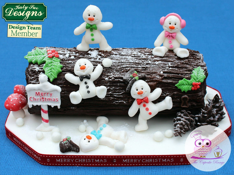 CD - An idea using the Christmas Sign Posts Silicone Mould product