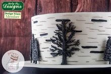 CD - An idea using the Little Tree Silhouette Silicone Mould product
