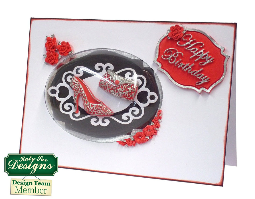 C - An idea using the Happy Birthday Mini Plaque Silicone Mould product