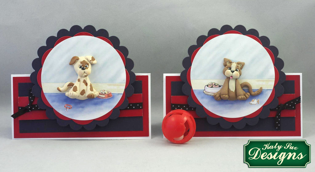 C - An idea using the Dog Sugar Buttons Silicone Mould product