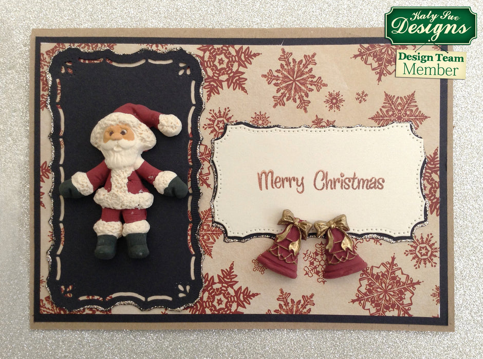C - An idea using the Father Christmas Sugar Buttons Silicone Mould product