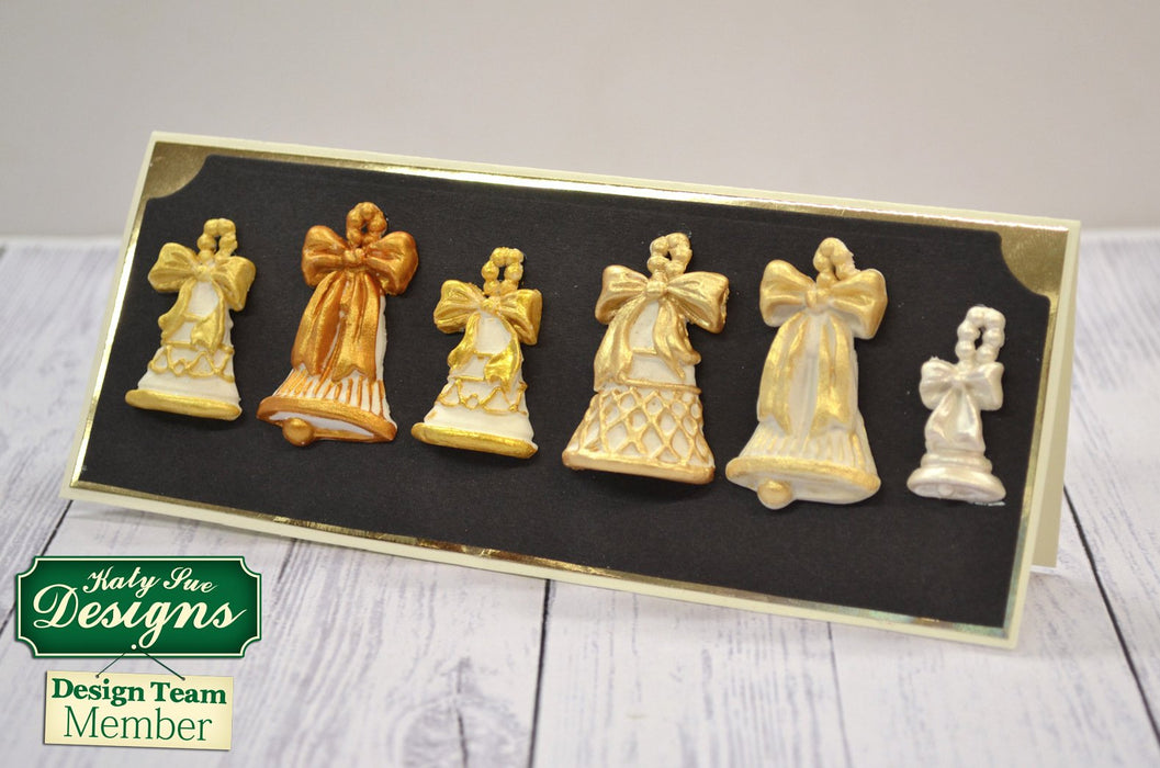 C - An idea using the Christmas Bells Silicone Mould product