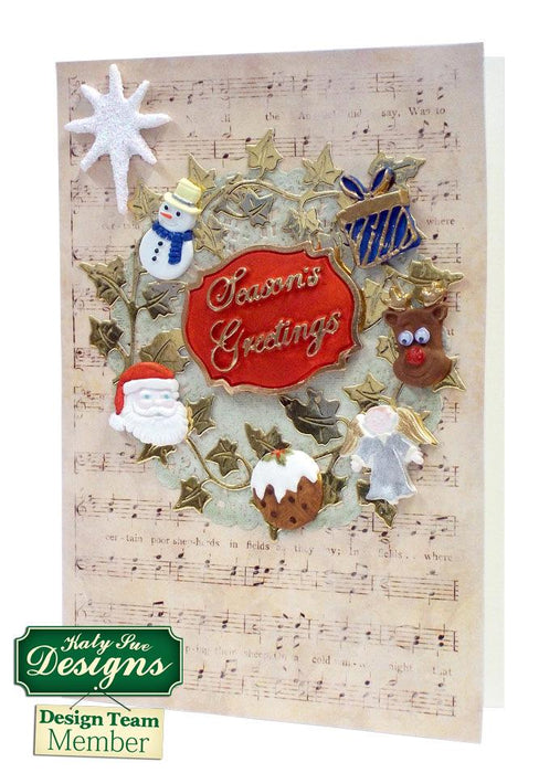 C - An idea using the Christmas Embellishments Mould product