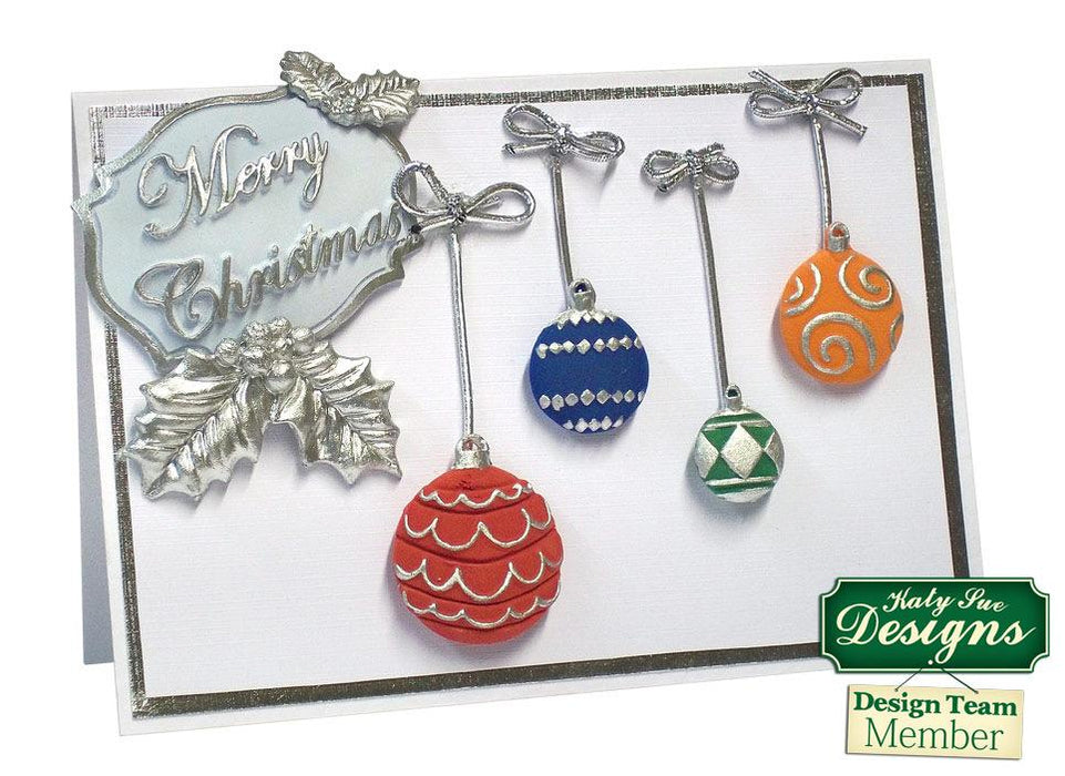 C - An idea using the Christmas Baubles Silicone Mould product