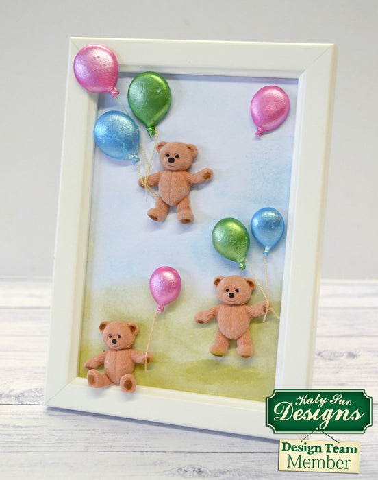 C - An idea using the Baby Teddy Bear Silicone Mould product
