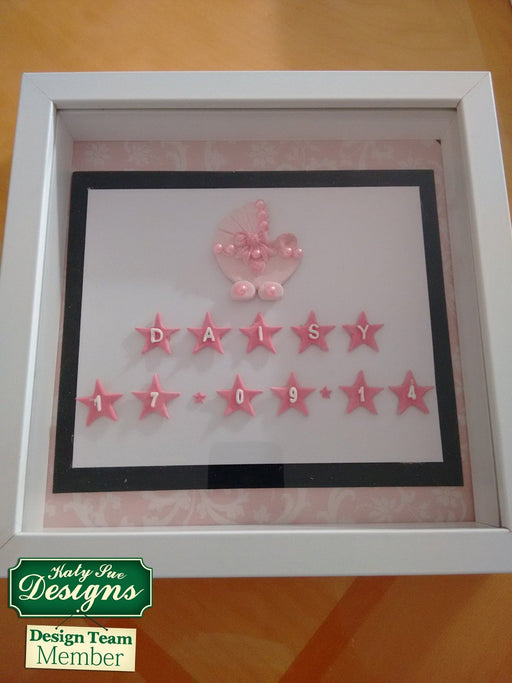 C - An idea using the Star Numbers Silicone Mould product