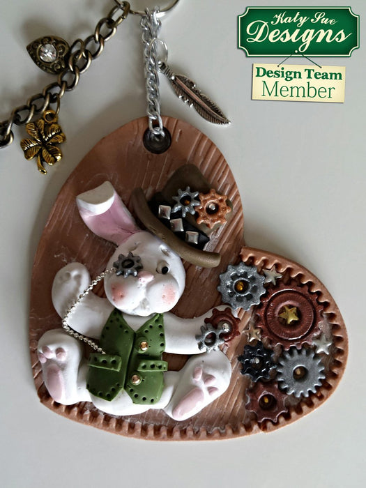 C - An idea using the Rabbit Sugar Buttons Silicone Mould product