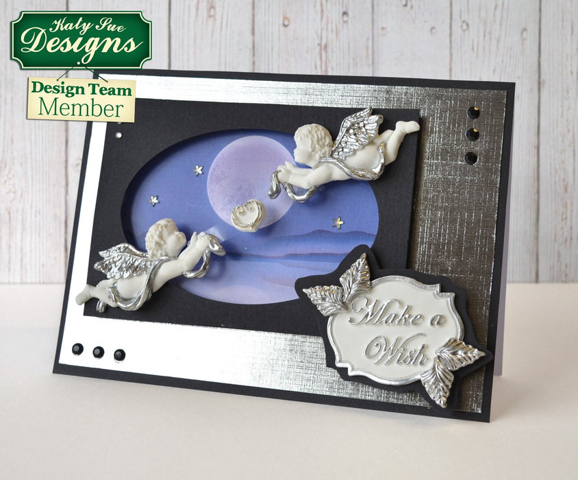 C - An idea using the Ornamental Cherubs Silicone Mould product