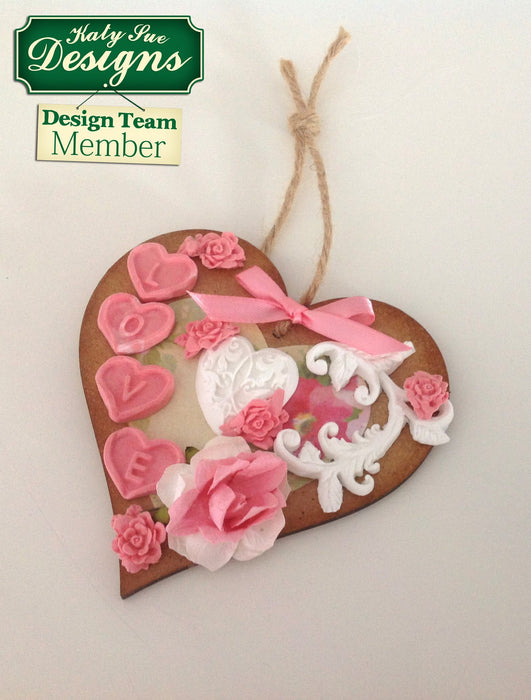 C - An idea using the Elegant Hearts Silicone Mould product