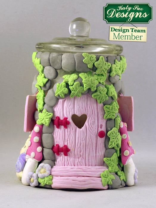 C - An idea using the Enchanted Window & Flowers Sugar Buttons Mould product