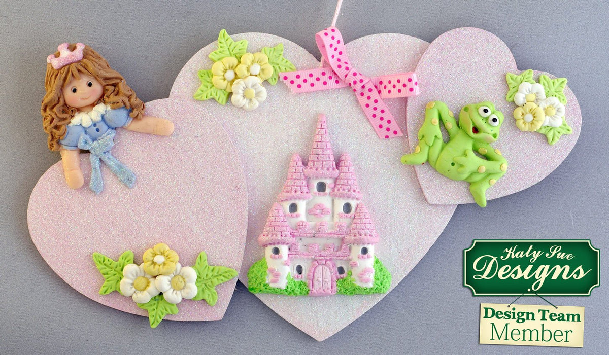 C - An idea using the Princess Sugar Buttons Silicone Mould product