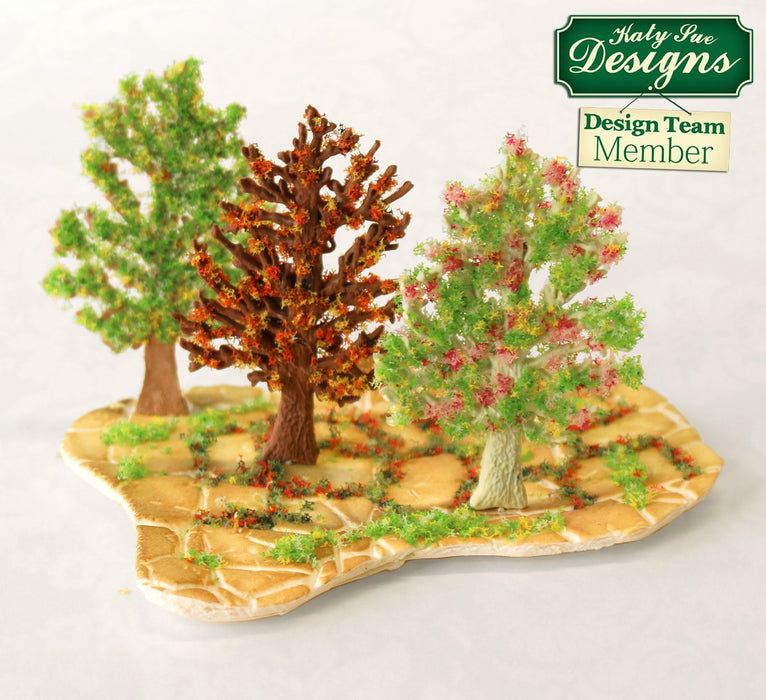 C - An idea using the Little Tree Silhouette Silicone Mould product
