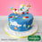 CD - Alphabet bunting cake decorating mould