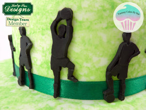 CD - An idea using the Football Silhouettes Silicone Mould product