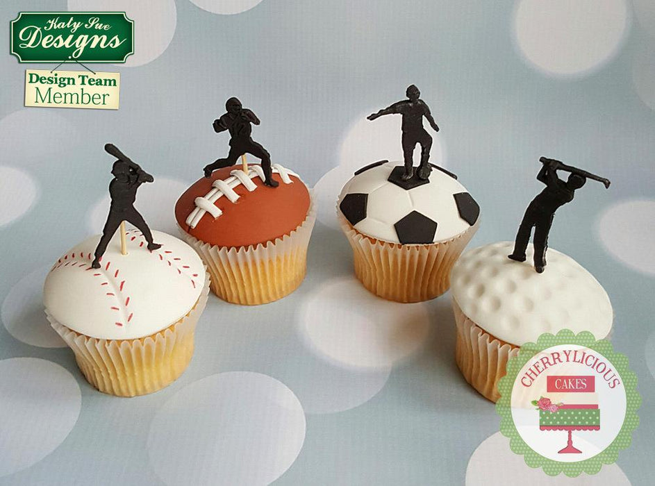 CD - An idea using the Baseball Silhouettes Silicone Mould product