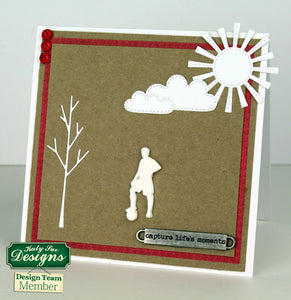 C - An idea using the Football Silhouettes Silicone Mould product