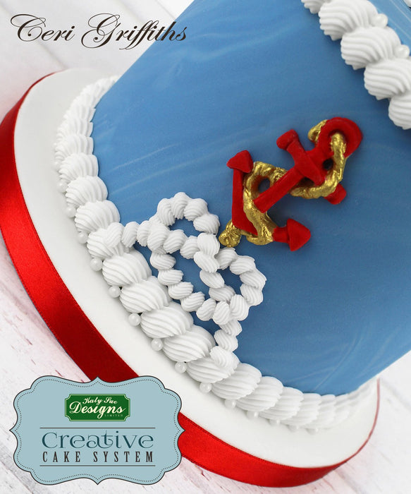 CD - An idea using the Pirate Accessories Sugar Buttons Silicone Mould product