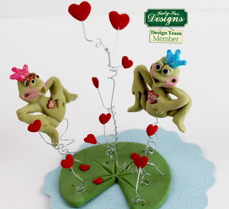 CD - An idea using the Frog Prince Sugar Buttons Silicone Mould product