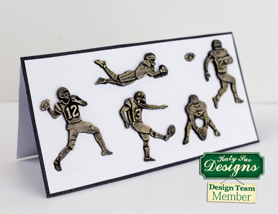 C - An idea using the American Football Silhouettes Silicone Mould product