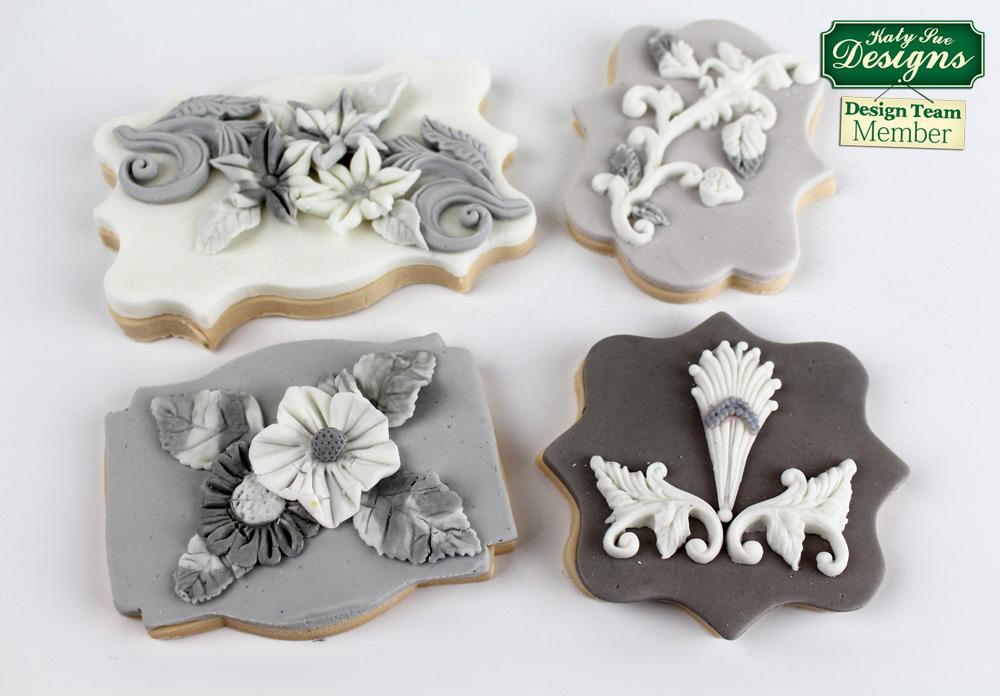 CD - An idea using the Ornamental Drops Silicone Mould product