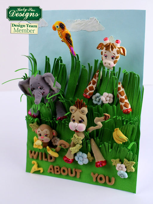 C - An idea using the Giraffe Sugar Buttons Silicone Mould product