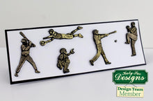 C - An idea using the Baseball Silhouettes Silicone Mould product