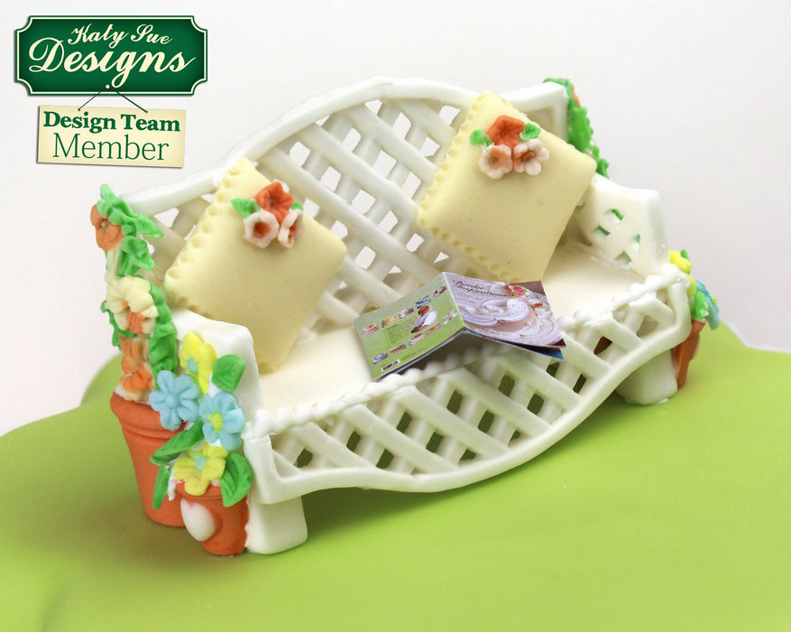CD - An idea using the Trellis Fence Silicone Mould product