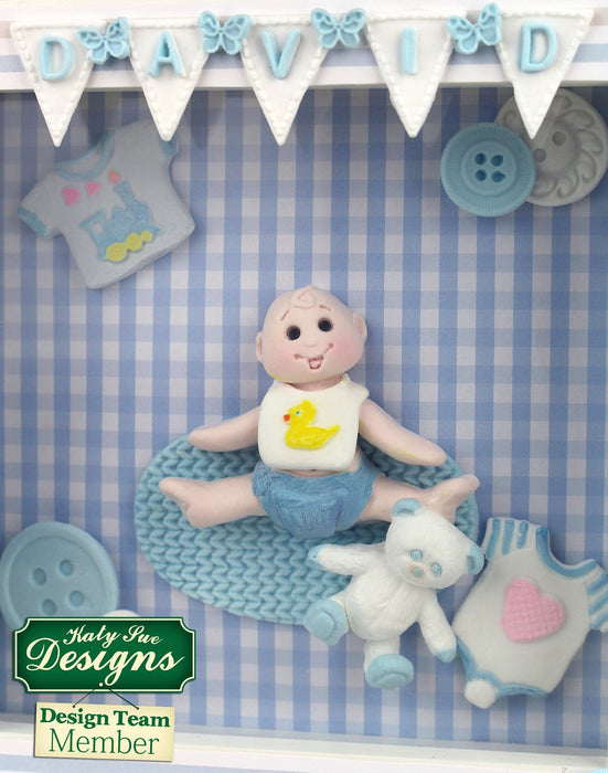 C - An idea using the Baby Clothes Washing Line Mould product