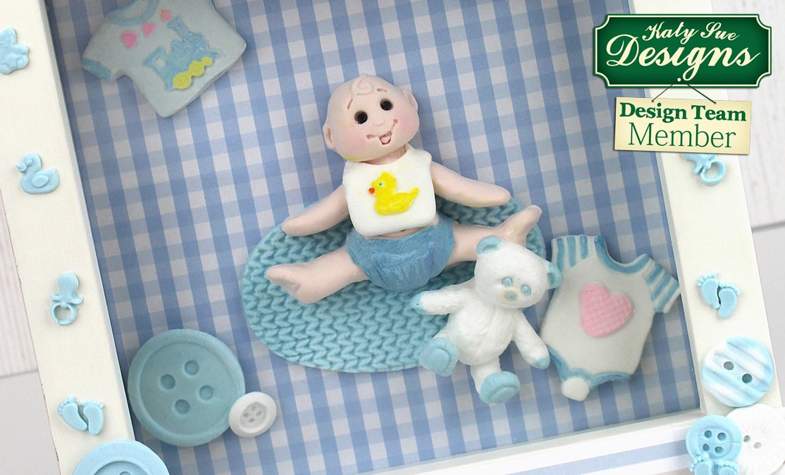 C - An idea using the Baby Sugar Buttons Silicone Mould product
