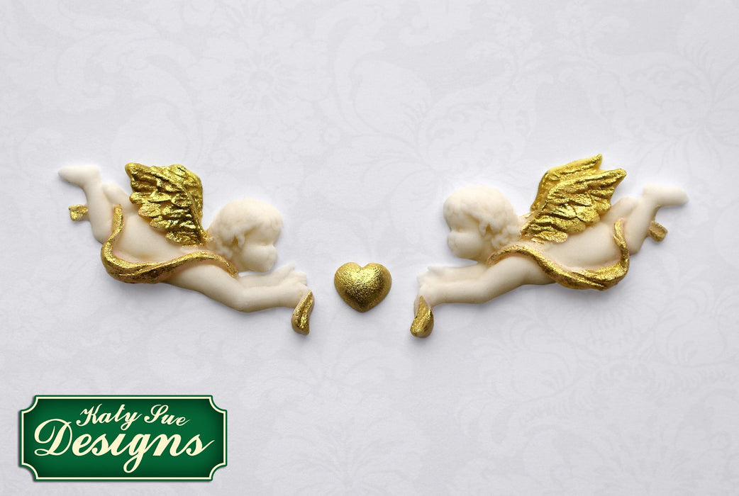 C&D - An idea using the Mini Cherubs Silicone Mould product