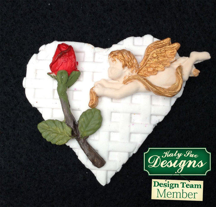 C - An idea using the Mini Cherubs Silicone Mould product