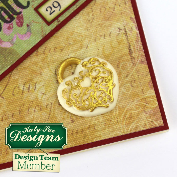 C - An idea using the Decorative Keys & Locket Mould product